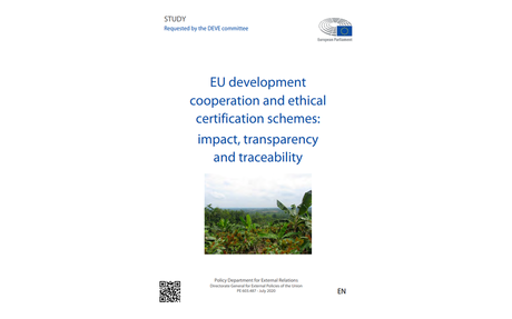 EU development cooperation and ethical certification schemes
