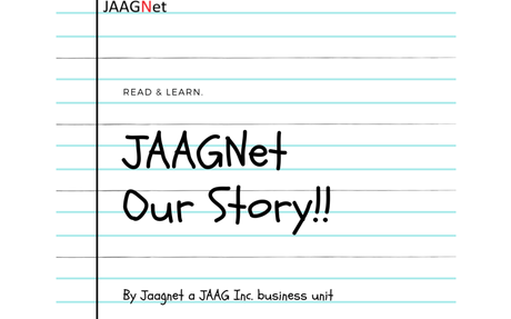 "JAAGNet ""Our Story"" (taken from our Design Notebook)"