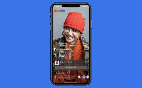 TECH // Facebook Announces Shop, Instagram Expands Live Shopping