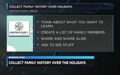 December 10, 2018: MAPH Alum Coordinates Family History for the Holidays