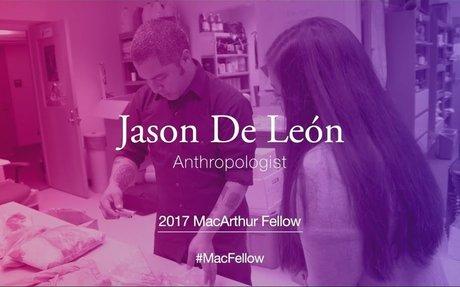 Anthropologist Jason De León | 2017 MacArthur Fellow