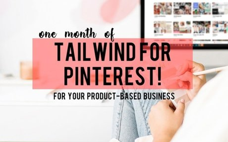 One month of Tailwind for Pinterest
