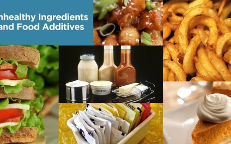 Unhealthy Ingredients and Food Additives