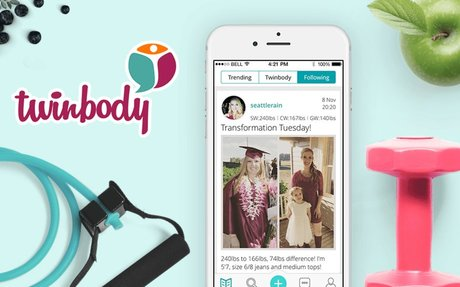 Twinbody - Join the most positive health community there is