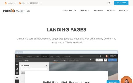 HubSpot - Personalized Landing Pages