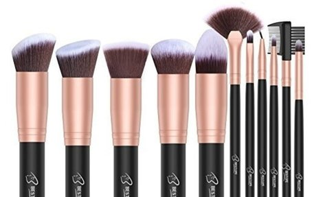 Amazon.com: BESTOPE Makeup Brushes 16 PCs Makeup Brush Set Premium Synthetic Foundation Br