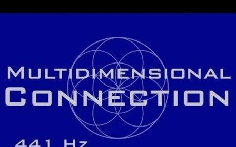 Multi-Dimensional Self Connection Meditation Music - 441 Hz Binaural Beats