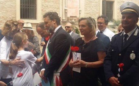 Il segretario di Stato polacco  alla commemorazione  della Liberazione di Loreto