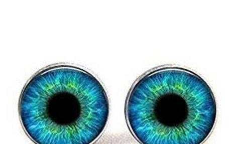 Amazon.com: Turquoise Blue Cat Eye Earrings - Many Custom Options - Realistic Animal Drago