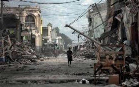 #6 Massive earthquake strikes Haiti -                                         Jan 12, 2010