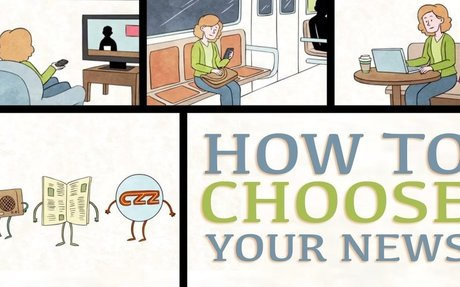 How to choose your news - Damon Brown