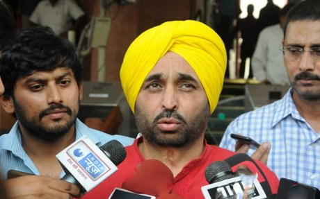 No water from Punjab will be allowed to flow to Haryana: AAP leader Bhagwant Mann