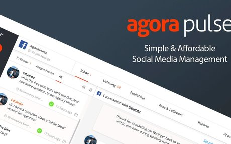 Simple & Affordable Social Media Management | Agorapulse