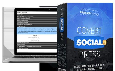 Covert Social Press Wordpress Theme