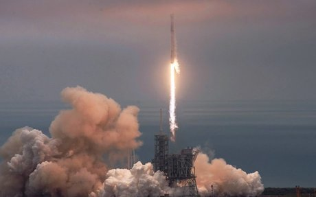 SpaceX Launches Rocket Carrying Space Station Cargo