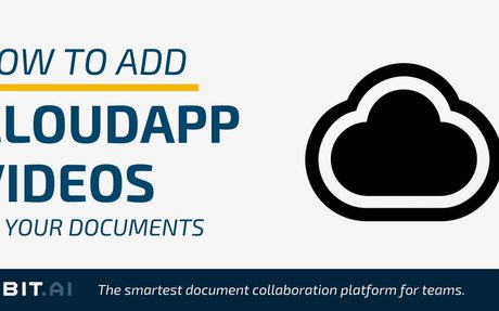 How to Add Cloudapp Videos to Your Documents - Bit Blog