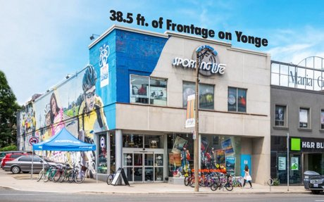 Notable Yonge Street Retail Building For Sale