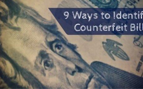 Counterfeit Money: How to Spot Fake Bills