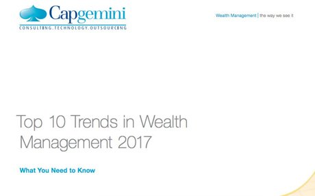 2016-12 Capgemini: Top 10 Trends in Wealth Management 2017
