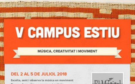 V CAMPUS ESTIU - docents de música i professionals