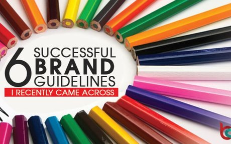 6 Successful Brand Guidelines I Recently Came Across