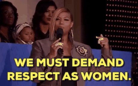 Queen Latifah Womens Day GIF by VH1 Hip Hop Honors - Find & Share on GIPHY