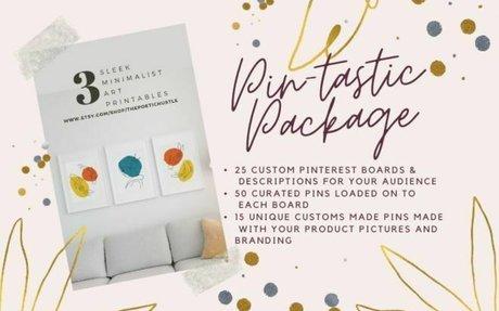 Pin-Tastic: I'll Fill Up Your Pinterest Account!