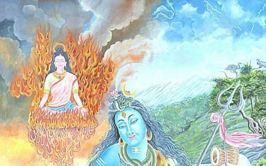 Sati - burning of the Hindu widow By: Aharon Daniel