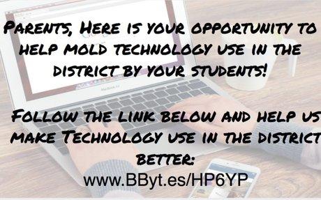 Parent Technology Survey - Please help us out!