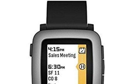 Pebble Time Smartwatch - Black