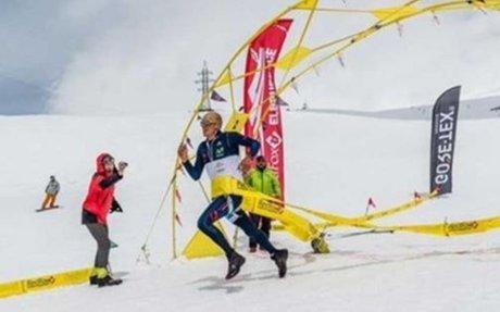 Ecuatoriano Karl Egloff logró un récord mundial de velocidad en el Elbrus