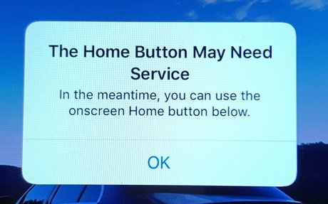 Home Button 'In Trouble', Apple Quick Got a Fix!
