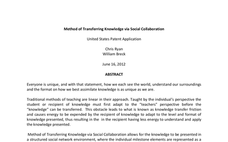 C Method of Transferring Knowledge via Social Collaboration.docx