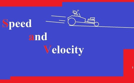 Basic Physics: Calculating Speed and Velocity Explained!