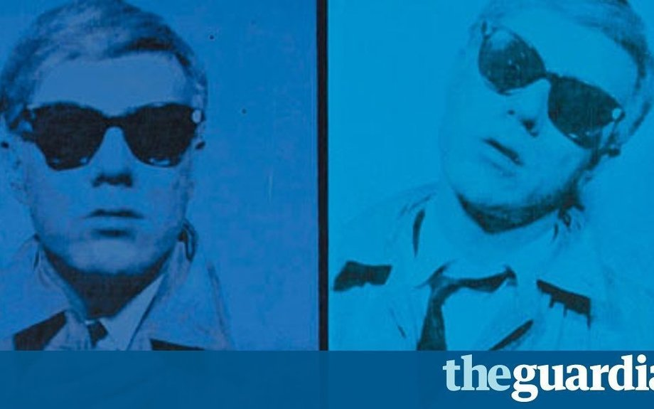 Andy Warhol: a self-portrait of the artist trying his fame on for size