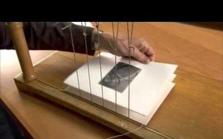 Hogyan készült? A hagyományos könyvkötészet.