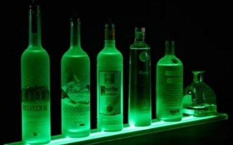 Lighted Liquor Bottle Shelves | Listly List