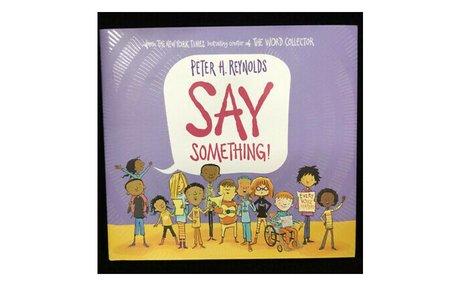 *Say something!
