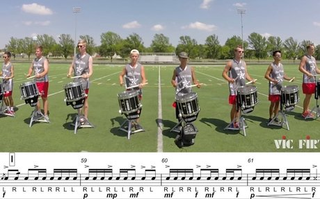 """2017 Blue Stars Snares - LEARN THE MUSIC to """"Star Crossed"""""""