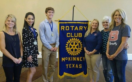 Rotary Club Students of the Month