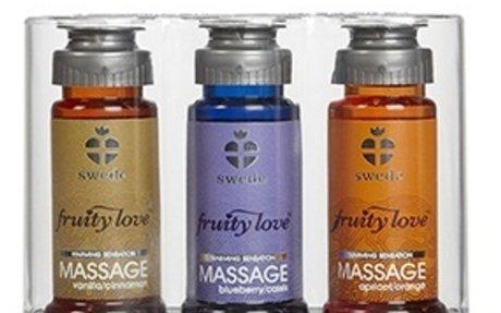 """Huile de massage """"La Tentation""""   Huile de massage chauffante, parfum crème brulée, 30 ml"""