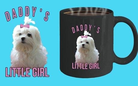Maltese Dog Dads Mug For Fathers Day