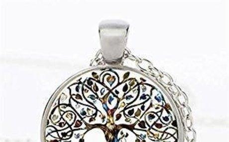 Amazon.com: Rurah Fashion Valentine's Day Gift Antique Silver Tone Retro All Kinds of Tree