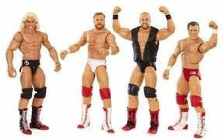 WWE Hall of Fame Four Horsemen Figure 4-Pack