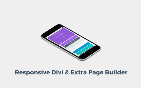 A Mobile Friendly Divi/Extra Page Builder