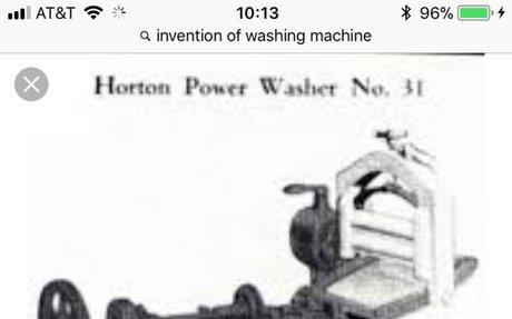 8.) The New Washing Machine