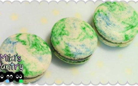 Earth Day Macarons
