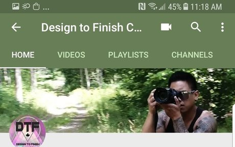 Design to Finish Canada Youtube Channel