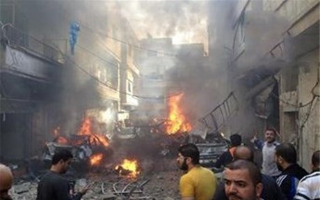 النظام يتقدم في زبدين… ويقصف عدة مناطق في ريف دمشق