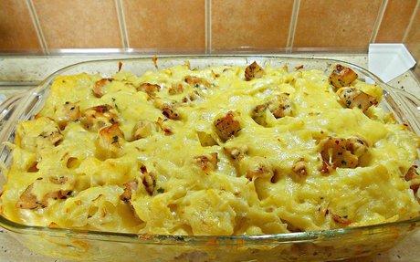 Csirkés csusza recept Szigi konyhájából - Receptneked.hu